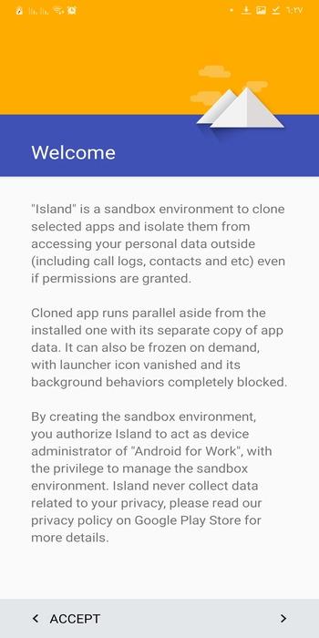 تحميل تطبيق ايسلاند احدث اصدار Island APK