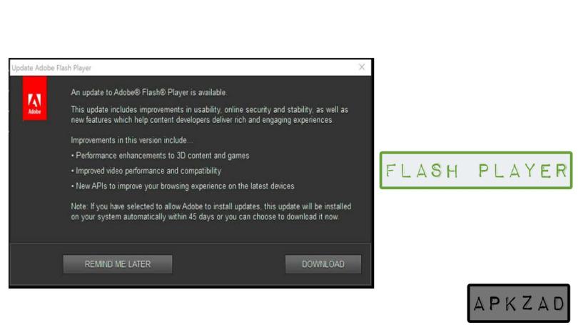 تحميل برنامج فلاش بلاير للكمبيوتر XP